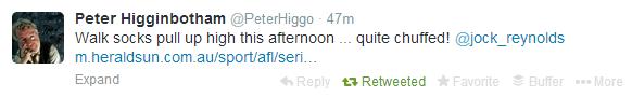 Higgo Tweet