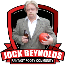 Supercoach and Fantasy Football legend Jock Reynolds