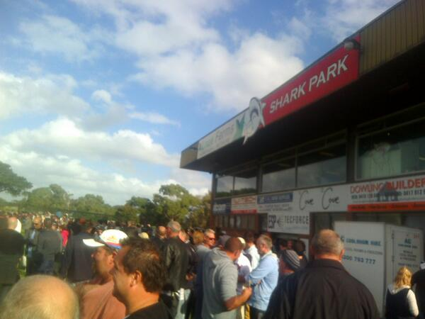 Had a ripper arvo at Shark Park Good Friday with Wayno.