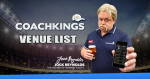 CoachKings: Updated Venue Listing