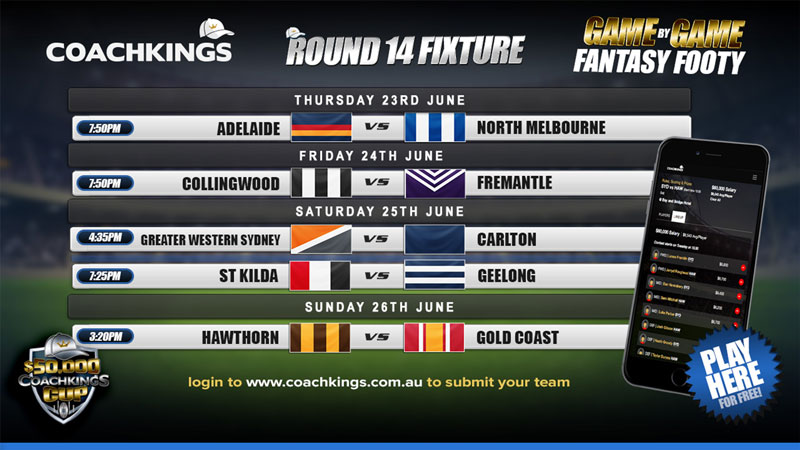 CoachKings Fixture