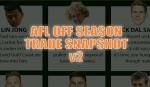 Cheat Sheet: Off season trade update v2