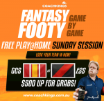 Sunday Arvo CoachKings Session