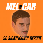 SuperCoach Significance Report: MEL V CAR