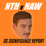 SuperCoach Significance Report: NTH v HAW