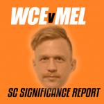 SuperCoach Significance Report: WCE v MEL