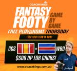 CoachKings GCS v WBD – GAME ON!