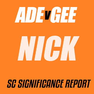 Adelaide v Geelong significnce Report