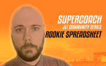 JLT Series SuperCoach Rookie Spreadsheet