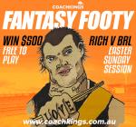 Brisbane v Richmond: Jock's CoachKings play-at-home lineup