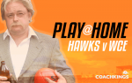 Hawks v West Coast: Jock's CoachKings play-at-home lineup