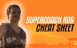 Supercoach RD6: LekDog's Cheat Sheet