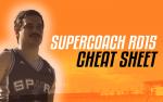 SuperCoach RD15: LekDog's Cheat Sheet