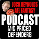 AFL supercoach mid priced defenders 2013 podcast
