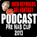 Jock Reynolds pre NAB Cup podcast