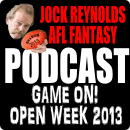 Supercoach and AFL Fantasy Open week podcast